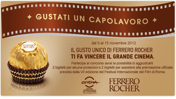 Ferrero Rocher. Gustati un capolavoro.