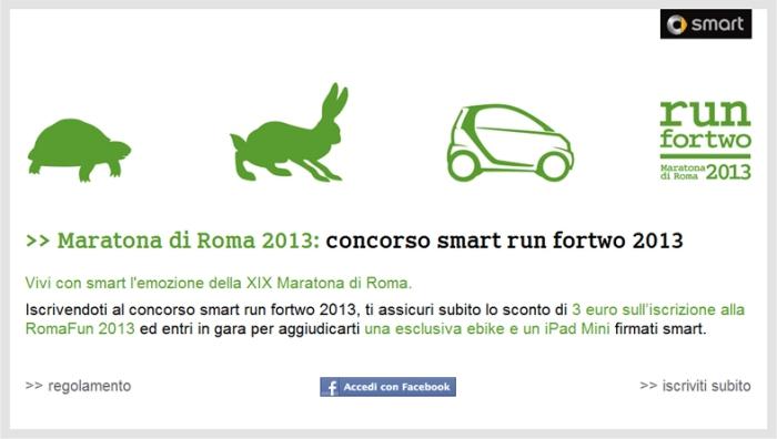 concorso smart run fortwo 2013